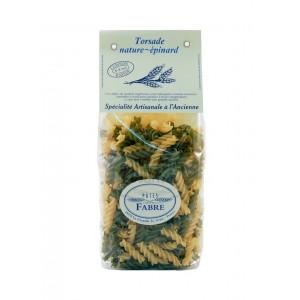 Torsades Nature épinard - Pâtes Fabre - 250g