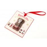 Ourson Guimauve de Noël - décoration sapin -24g