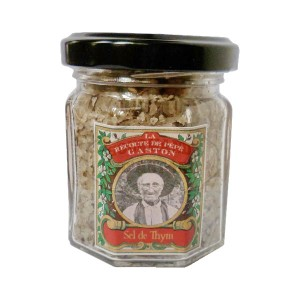 Sel de thym - La récolte de Pépé Gaston - 75g