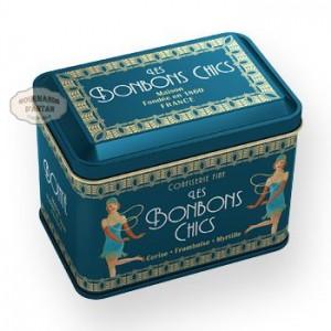 "Bonbons Rubis ""Bonbons Chics 1920"" Bonté - Boite fer 130g"