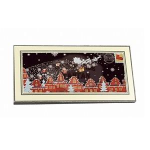 Carte Noël Chocolat NOIR - Comptoir du Cacao - 180g