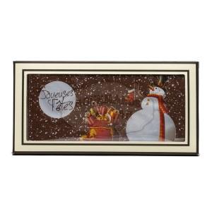 Carte Noël Chocolat LAIT - Comptoir du Cacao - 180g