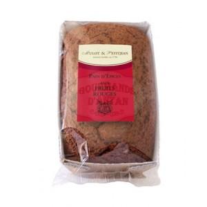 Pain d'épices aux fruits rouges Mulot & Petitjean - 180g