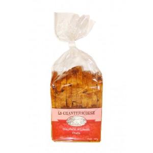 Biscottes gourmandes artisanales aux Fruits - La Chanteracoise.