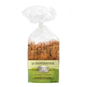 Biscottes gourmandes artisanales Chocolat/Noisette - La Chanteracoise.