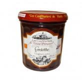 """Confiture Griotte  """"Les Confituriers de Haute-Provence""""  370g"""