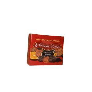 Florentins Chocolat Noir & Orange Chatillon - mini étui (x3) -20g