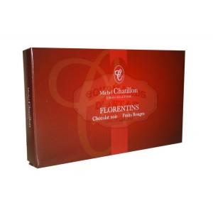 Florentins Chocolat noir & Fruits rouges Chatillon - Boite 100g