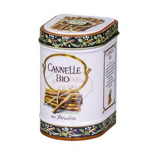Cannelle poudre Bio Province d'Antan - Boite fer luxe 20g
