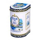 Fleur de sel de Camargue Bio Province d'Antan - Boite fer luxe 125g