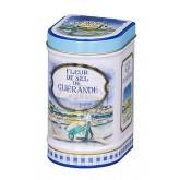 Fleur de sel de Guérande Bio Province d'Antan - Boite fer luxe 125g