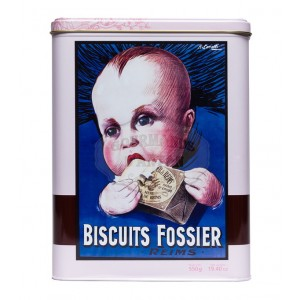 Biscuits rose Fossier- Boite collector Bébé 550g