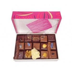 Assortiments chocolats Chatillon - Boite luxe fantaisie - 150g