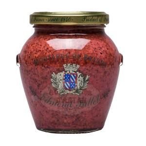 Moutarde de Beaune au Cassis Pot Orsio 305g - Fallot