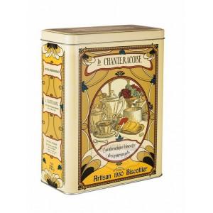 Biscottes « L'Authentique » Boite fer Arts Déco - La Chanteracoise.