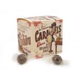 """Caramel DUR au beurre salé """"servez-vous"""" - Boite carton 150g"""
