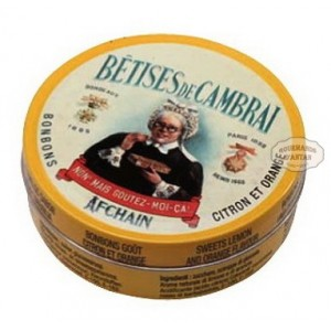 Bêtises de Cambrai ORANGE / CITRON - Boite collection 75g