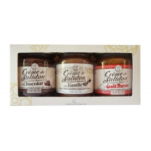 Salidou Chocolat, Vanille & Grand Marnier Mini pots - La Maison d'Armorine