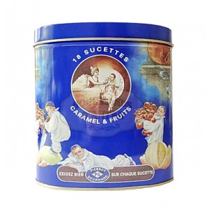 Sucettes Pierrot Gourmand - Boite fer 236g
