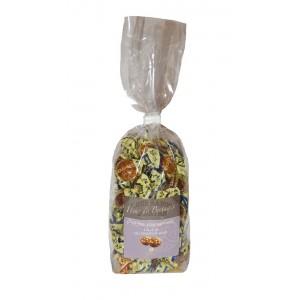 """Caramel DUR au beurre salé """"Fleur de bretagne"""" (Assortiments) - sachet 200g"""
