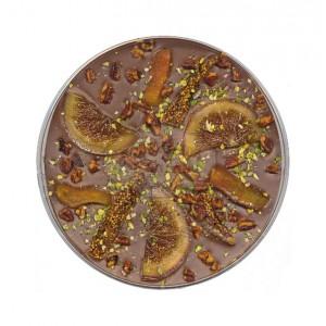 """Palet Gourmand Lait """"Mendiant Hiver"""" - Comptoir du Cacao -160g"""