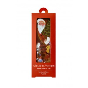 Pain d'épices Glacé Père Noël suspension sapin - 50g