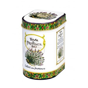 Thym de Provence Bio Provence d'Antan - Boite fer luxe 15g