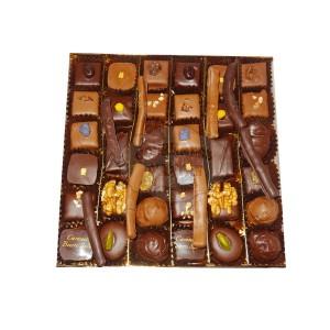 Assortiments chocolats Chatillon - Boite luxe fantaisie - 400g