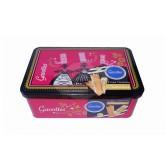 Crêpes Dentelle NATURE - Coffret métal Bigoudène Rose 200g - Gavottes