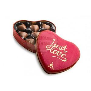 Coeurs à la guimauve - Boite fer coeur 60g