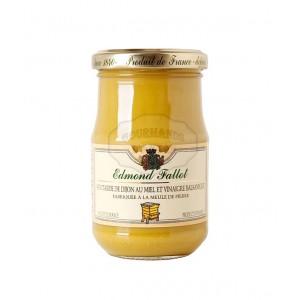 Moutarde de Dijon au miel et vinaigre balsamique 210g - Fallot