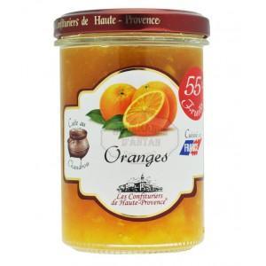 """Confiture d'Orange  """"Les Confituriers de Haute-Provence""""  240g"""