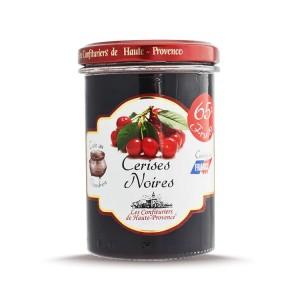 """Confiture de Cerises Noires """"Les Confituriers de Haute-Provence""""  240g"""