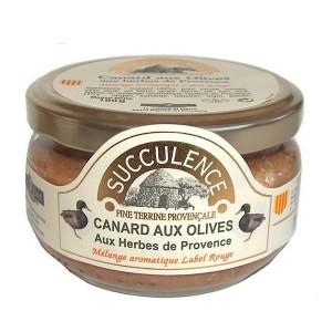 Terrine Canard aux olives - Succulence - 180g