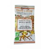 Biopastilles de tisane à sucer Menthe Poivrée biologique - 15g (25 pastilles)