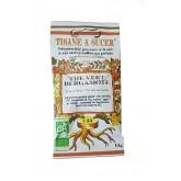 Biopastilles de tisane à sucer Thé vert - Bergamote biologique - 15g (25 pastilles)