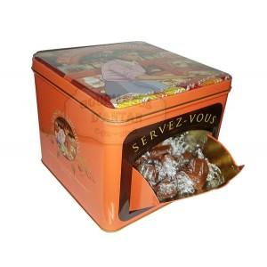 """""""Servez-vous"""" ARMORINE Boite Collector - Caramels tendres au beurre salé - 500g"""