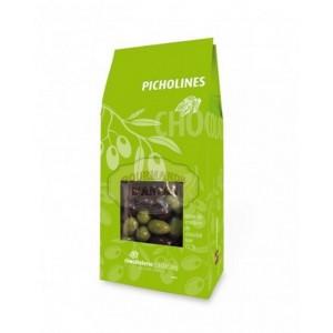 Picholines: Amandes enrobées de chocolat (olives de provence) - Castelain 100g
