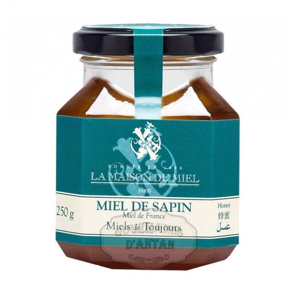 miel de sapin de la maison du miel 250g