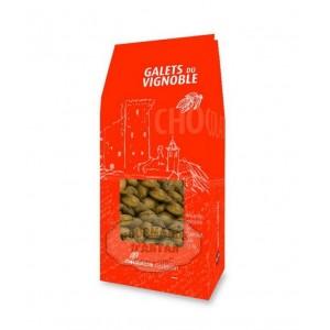 Galets du vignoble: Amandes enrobées chocolat - Castelain 100g