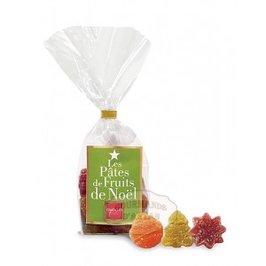 Pâtes de fruits d'Auvergne NOËL Cruzilles - Sachet 150g
