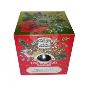 Tisane de Noël Bio Provence d'Antan - Boite cube métal