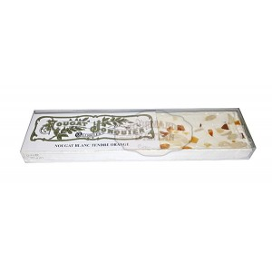 Nougat Blanc tendre ORANGE - Nougat Jonquier - Barre 125g
