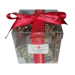 Chocolats cassés au marteaux Chatillon - Boite 400g