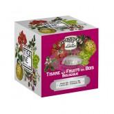 Tisane Fruits rouges Bio Provence d'Antan - Boite cube métal