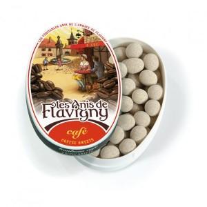 Anis de Flavigny CAFE - Boite Ovale 50g