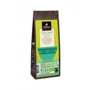 Thé vert BIO Earl Grey à la Bergamote - La Route des Comptoirs