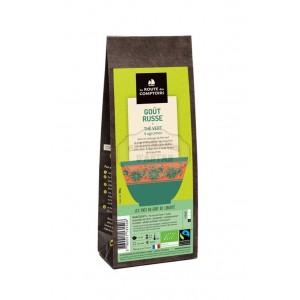Thé vert BIO 4 agrumes - Goût Russe - La Route des Comptoirs