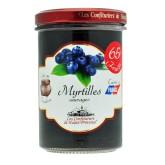 """Confiture Myrtille  sauvages """"Les Confituriers de Haute-Provence""""  240g"""