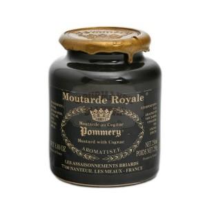Moutarde Royale au Cognac Pommery® - Les Assaisonnements Briards 250g